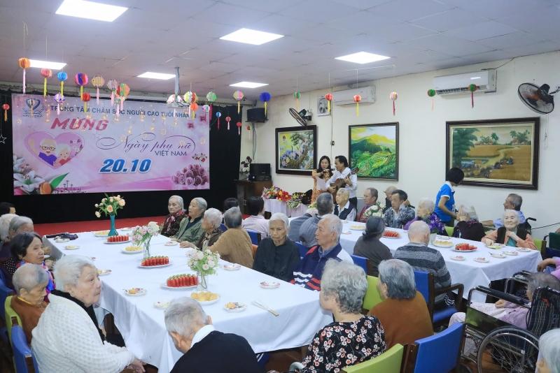 trung tâm chăm sóc người cao tuổi nhân ái