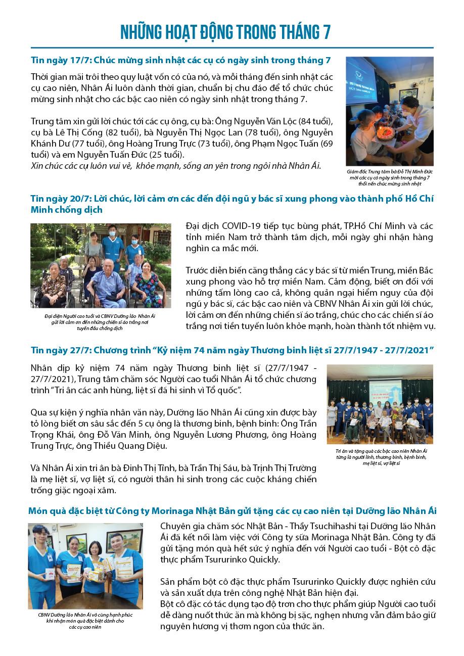 Dưỡng lão Nhân Ái ra mắt Nhan Ai News số thứ 2