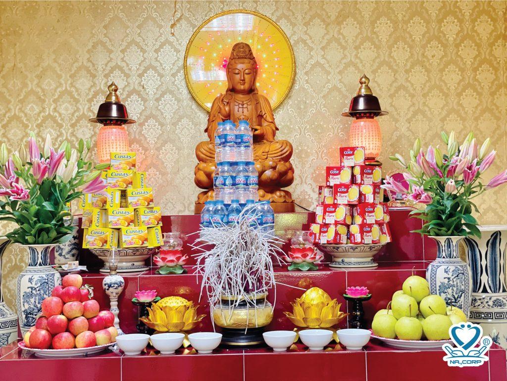 Lễ Vu Lan tại Dưỡng lão Nhân Ái