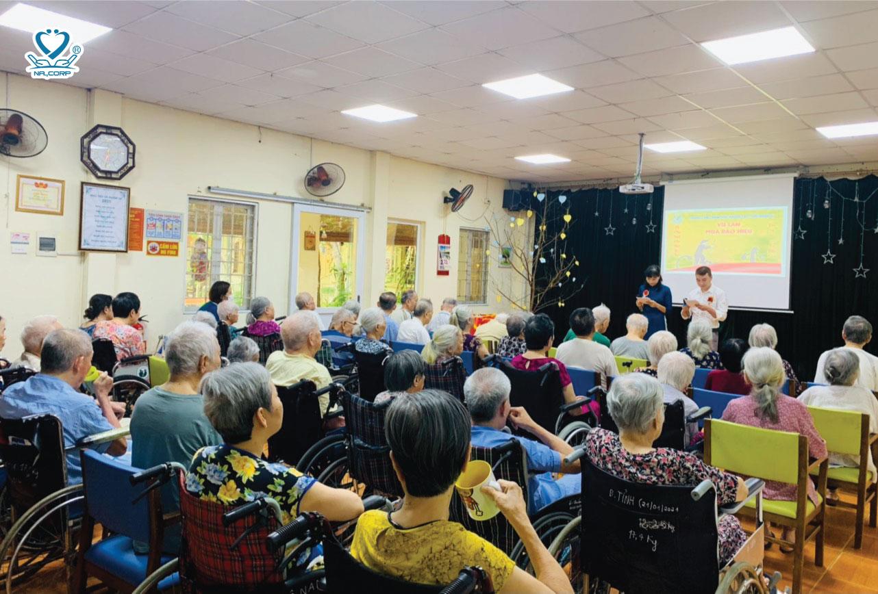 Vu Lan: Chương trình ước nguyện yêu thương tại Dưỡng lão Nhân Ái